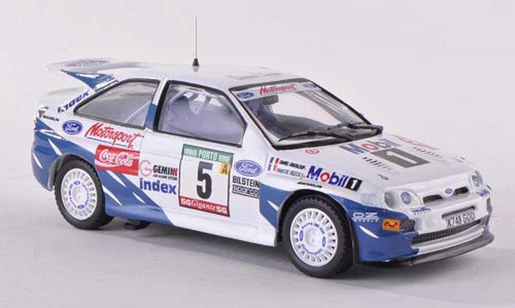 Ford Escort Cosworth 1/43 Mini Partes No.5 Rally Portugal  1993 F.Delecour/D.Grataloup miniature