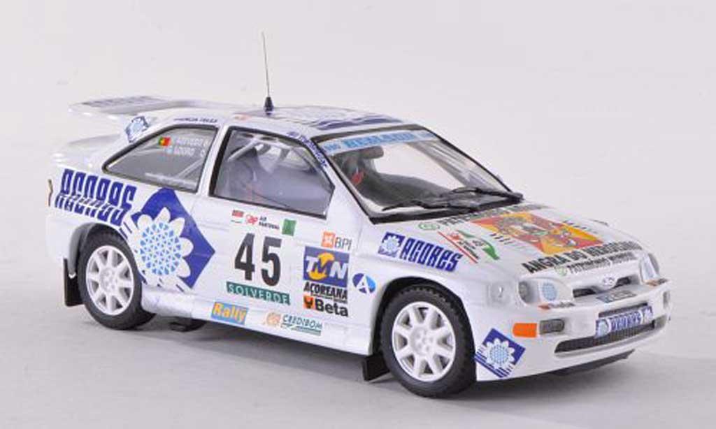Ford Escort Cosworth 1/43 Mini Partes No.45 Rally Portugal  2000 G.Louro/T.Azevedo miniature