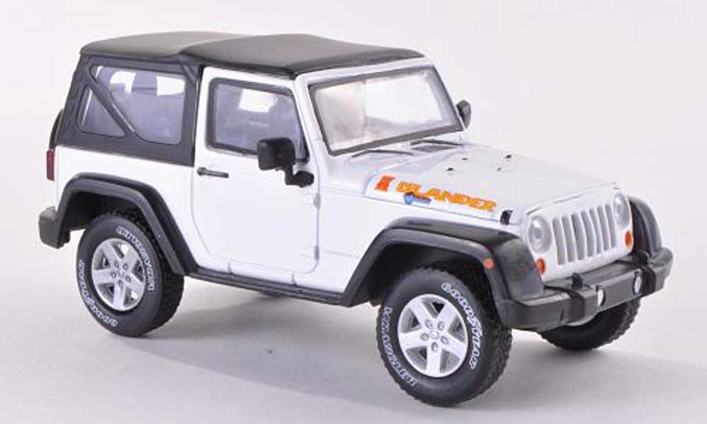 Jeep Wrangler 1/43 Greenlight Islander Edition weiss  2012 modellautos