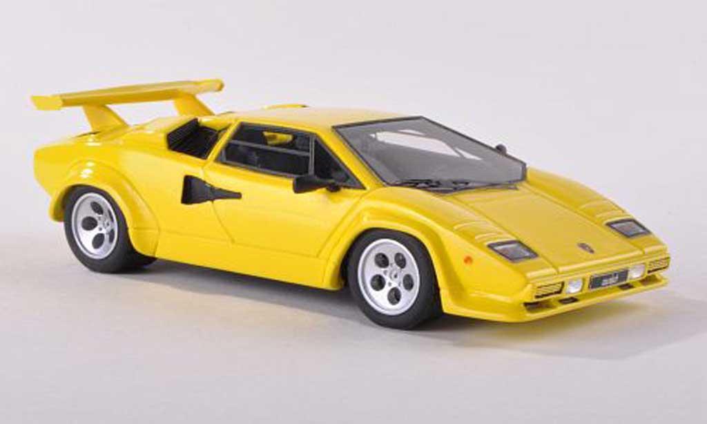 Lamborghini Countach LP 500 1/43 Look Smart jaune  1982 miniature