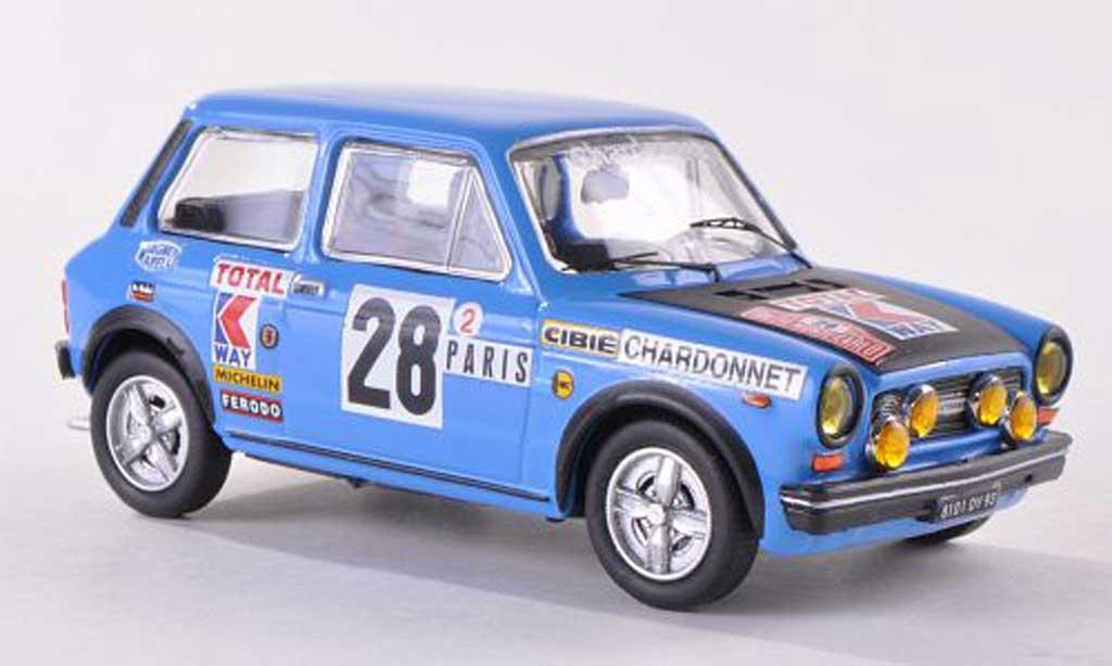 Autobianchi A112 1/43 Best Abarth No.28 Rally Monte Carlo 1978 Pagani/Carlotti miniature