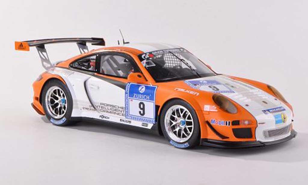 Porsche 997 GT3 1/18 Spark R hybrid No.9 Nurburgring Bergmeister/Holzer/Lietz/Ragginger 2010 diecast model cars
