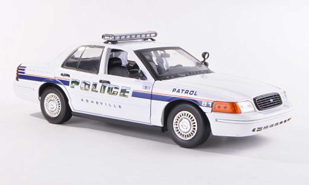 Ford Crown 1/18 Motormax Asheville Police Polizei (USA)  miniature