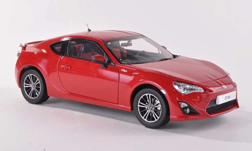 Toyota 86 2012 1/18 Century Dragon GT86 rouge miniature