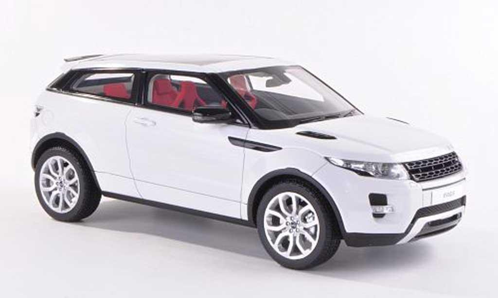 Range Rover Evoque 1/18 Century Dragon blanche RHD 3-Turer 2012 miniature