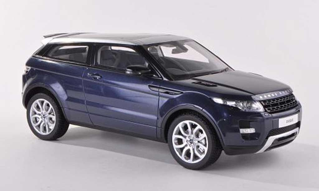 Range Rover Evoque 1/18 Century Dragon bleue RHD 3-Turer 2012 miniature