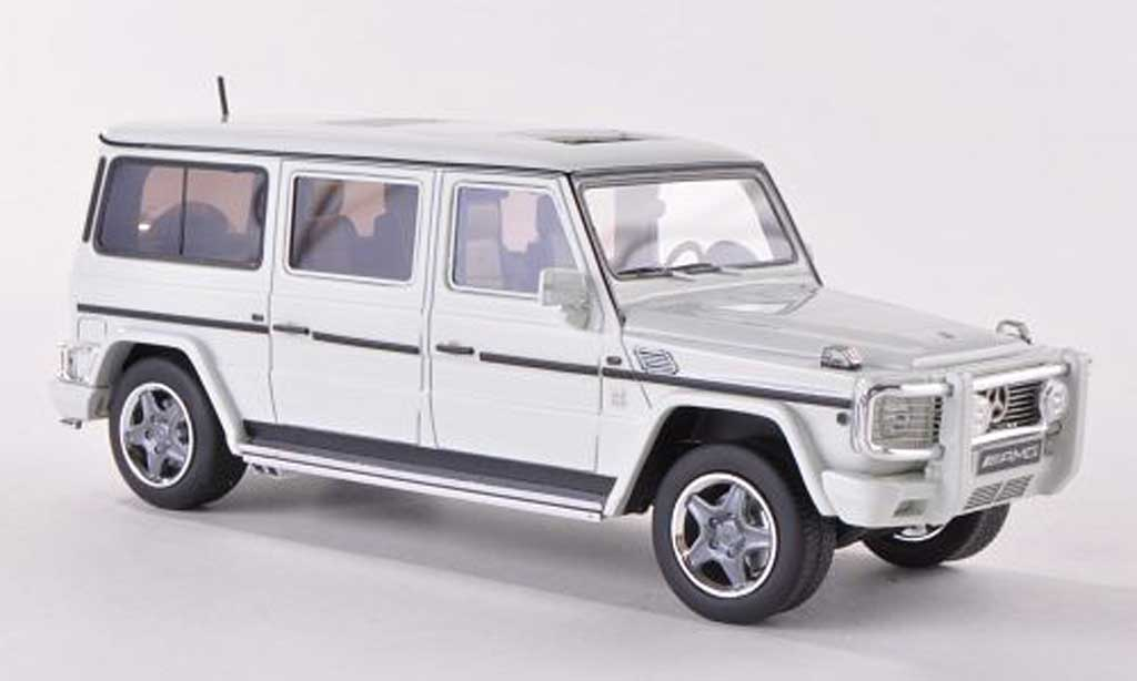 Mercedes Classe G 1/43 GLM AMG G63 Lang (W463) blanche  miniature