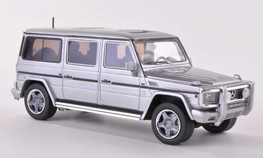 Mercedes Classe G 1/43 GLM AMG G63 Lang (W463) grise  miniature