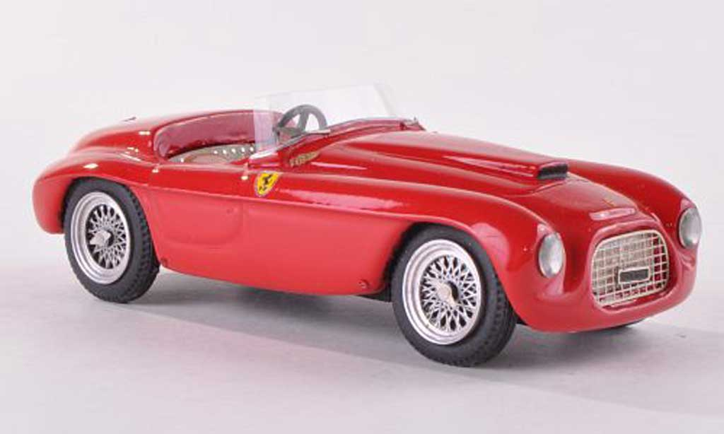 Ferrari 166 1950 1/43 Jolly Model SC Carrozzeria Fontana rouge RHD miniature