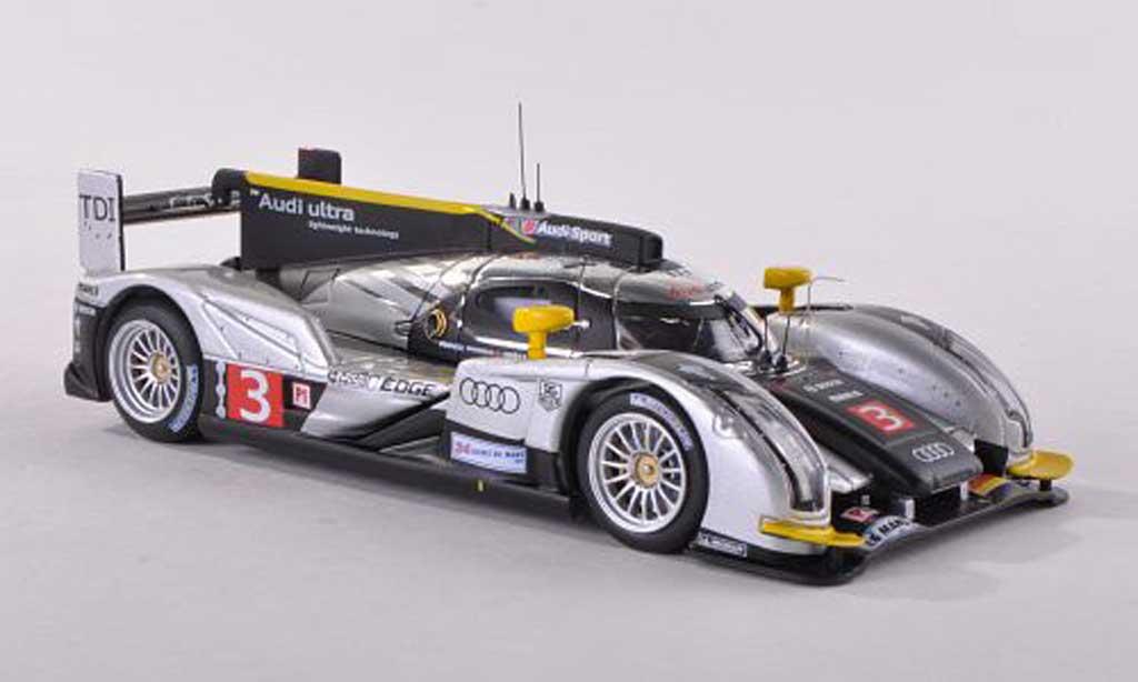 Audi R18 2011 1/43 IXO 2011 TDI No.3 ultra 24h Le Mans 2011 Kristensen/Capello/Mcnish miniature