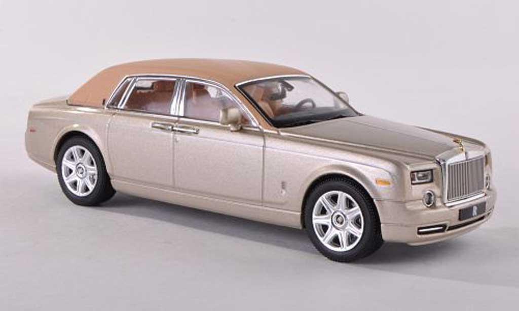 Rolls Royce Phantom 2009 1/43 IXO beige miniature