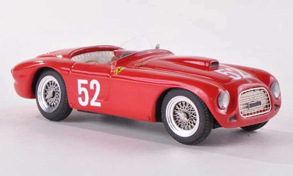 Ferrari 225 1952 1/43 Jolly Model S Targa Florio Castellotti No.52 miniature