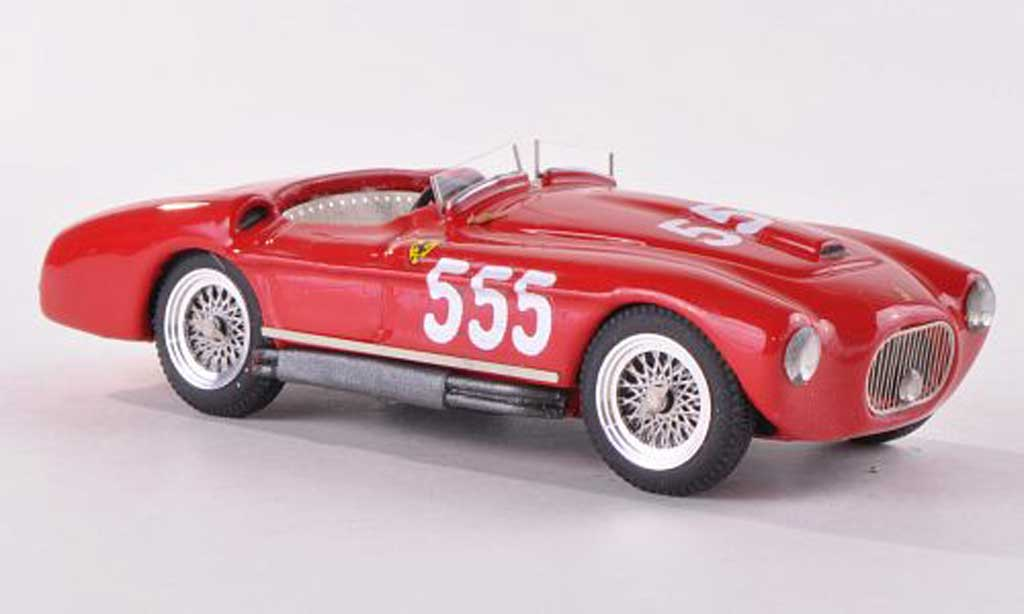 Ferrari 212 1954 1/43 Jolly Model Export Barchetta Touring Mille Miglia No.555 J.Fitch / E.Salami modellino in miniatura