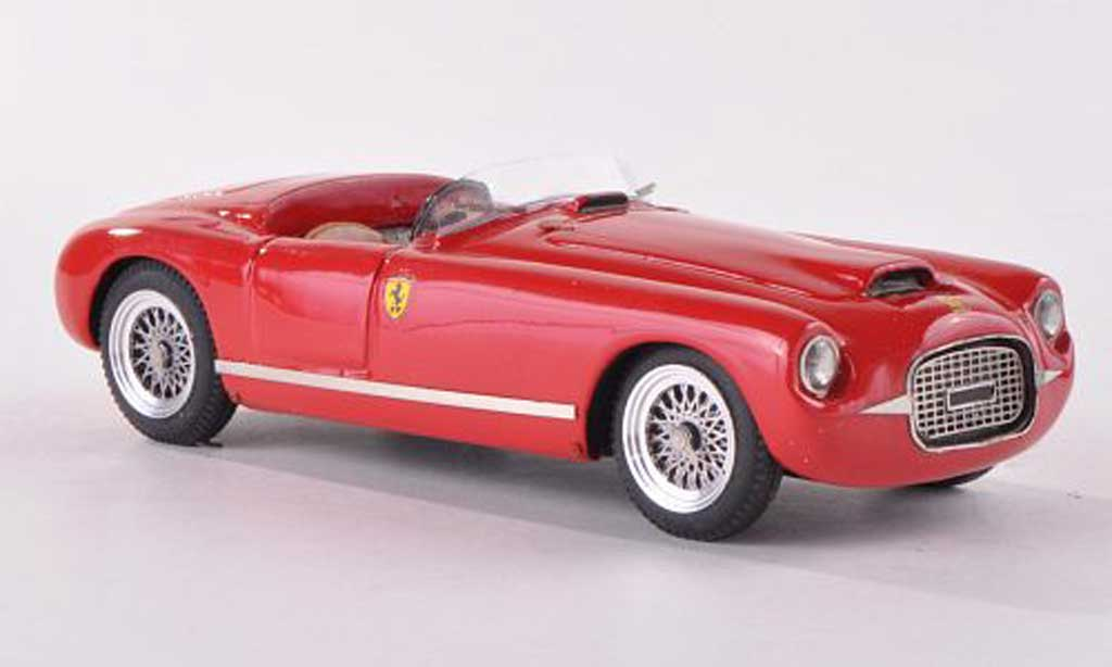 Ferrari 166 1950 1/43 Jolly Model Spider Motto Stradale rouge miniature