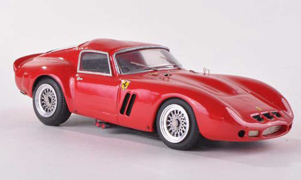 Ferrari 250 GTO 1966 1/43 Jolly Model rouge miniature