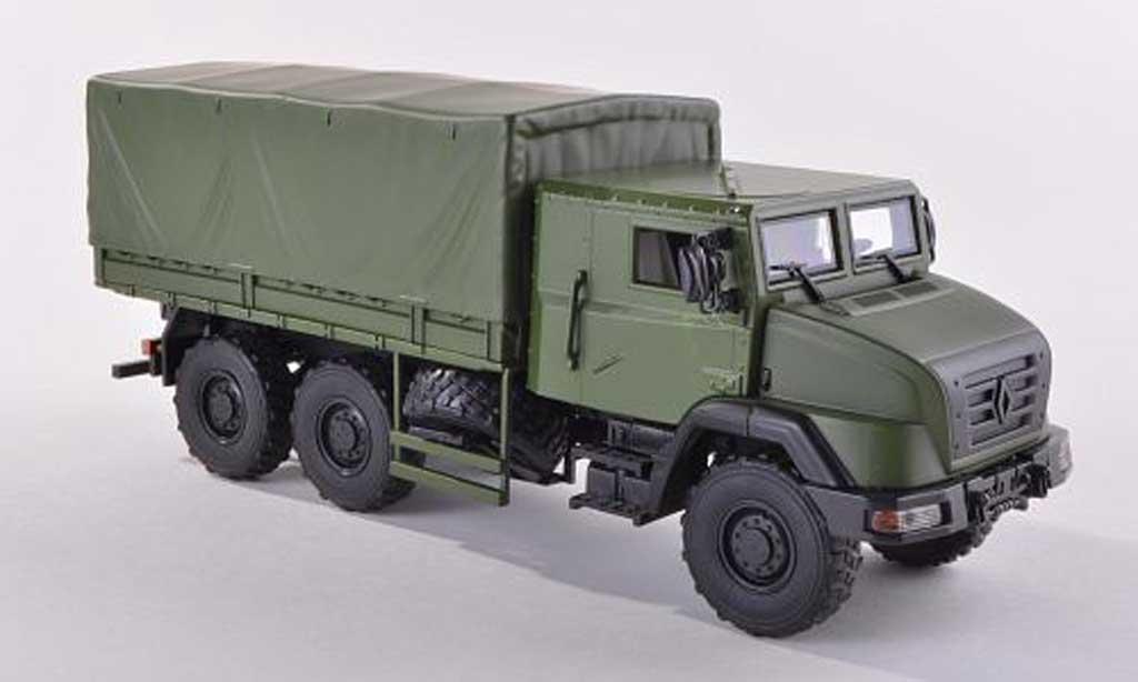 Renault Sherpa 1/43 Norev 5 Medium Truck / Truck mattverte  2010 miniature