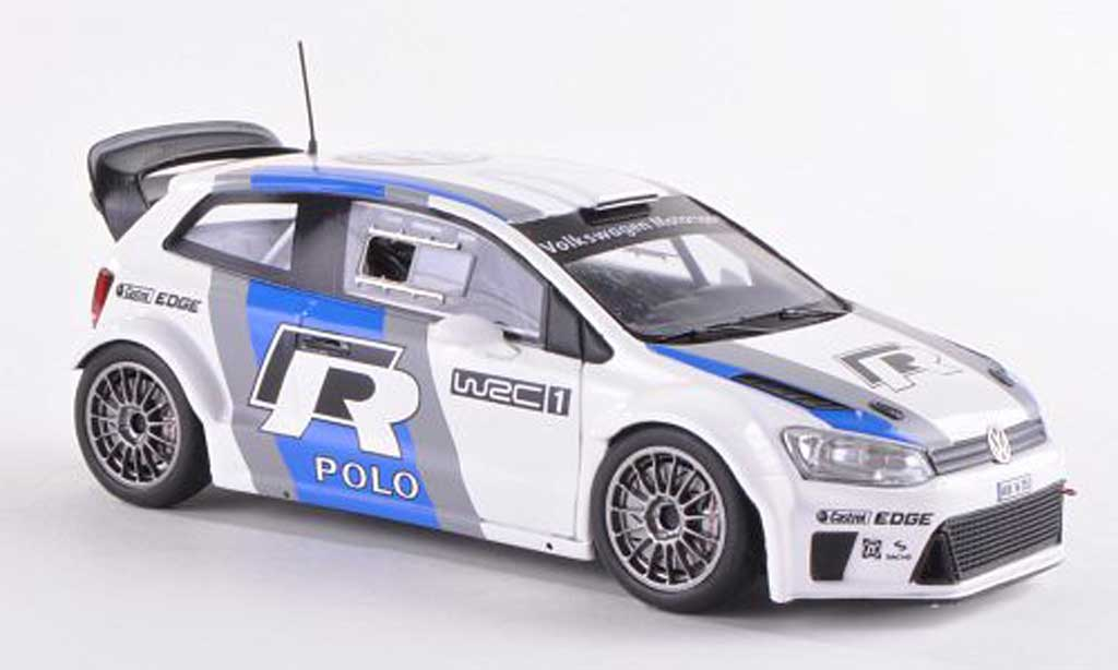 Volkswagen Polo WRC 1/43 Spark R No.1 Test Car  diecast