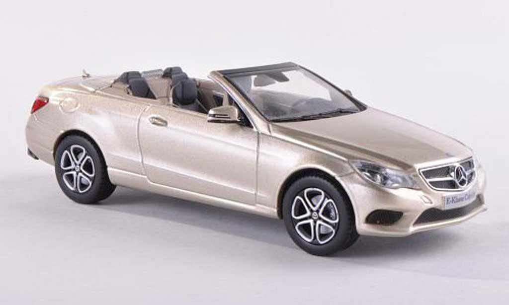 Mercedes Classe E 1/43 Kyosho convertibles beige  2013 miniature