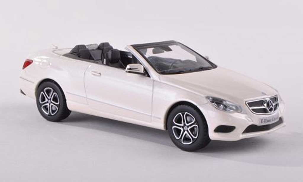 Mercedes Classe E 1/43 Kyosho convertibles blanche 2013 miniature