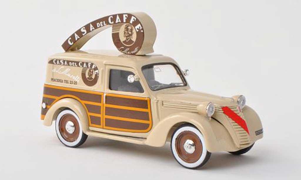 Fiat 1100 1950 1/43 Brumm Furgone Caffe Musetti Van miniature