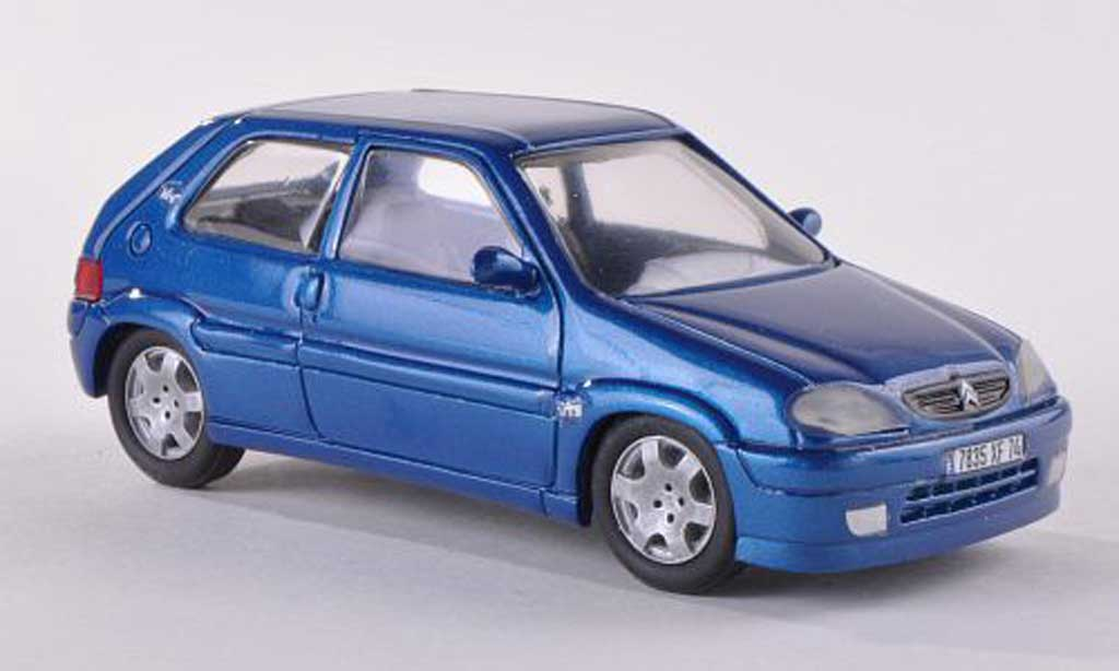Citroen Saxo 1/43 Paradcar VTS bleu  diecast
