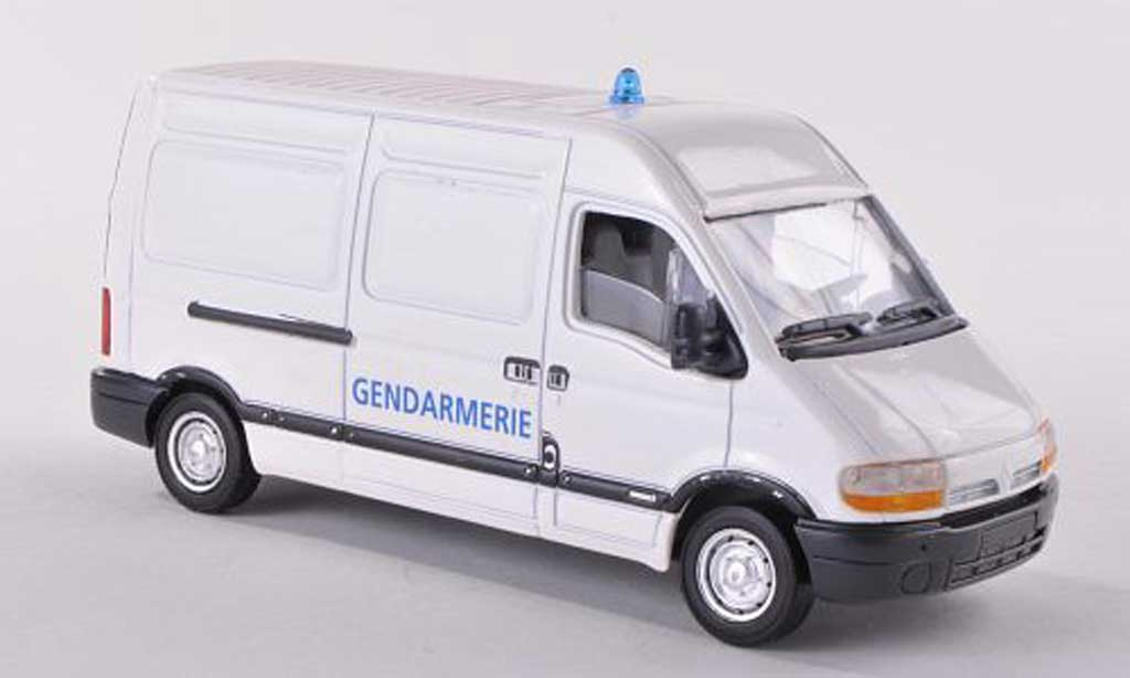 Renault Master 1/43 Verem Boite Gendamerie police (F)  miniature