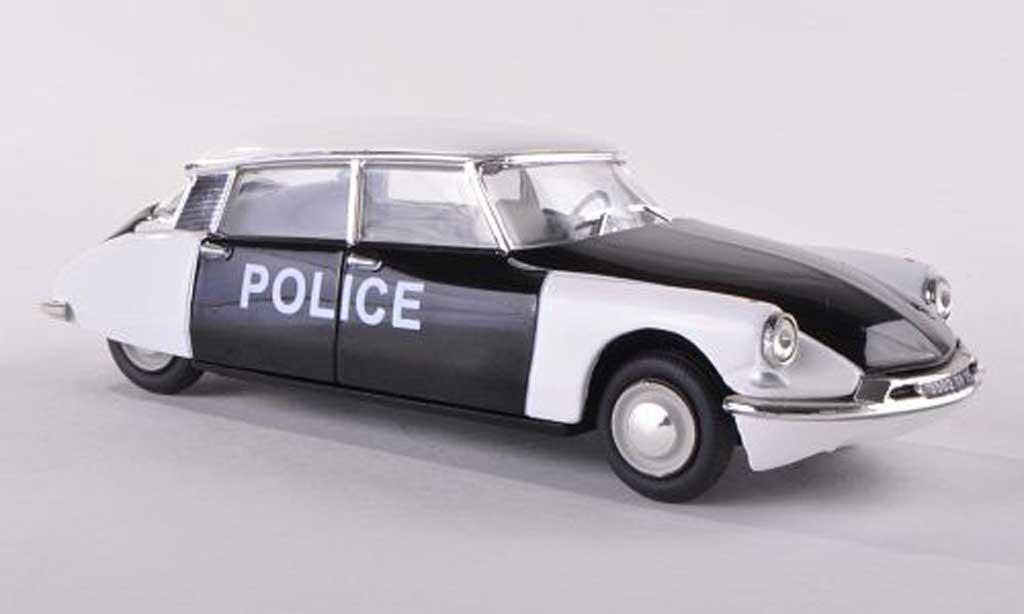 Citroen DS 19 1/43 Vitesse Police de Paris police (F)  miniature