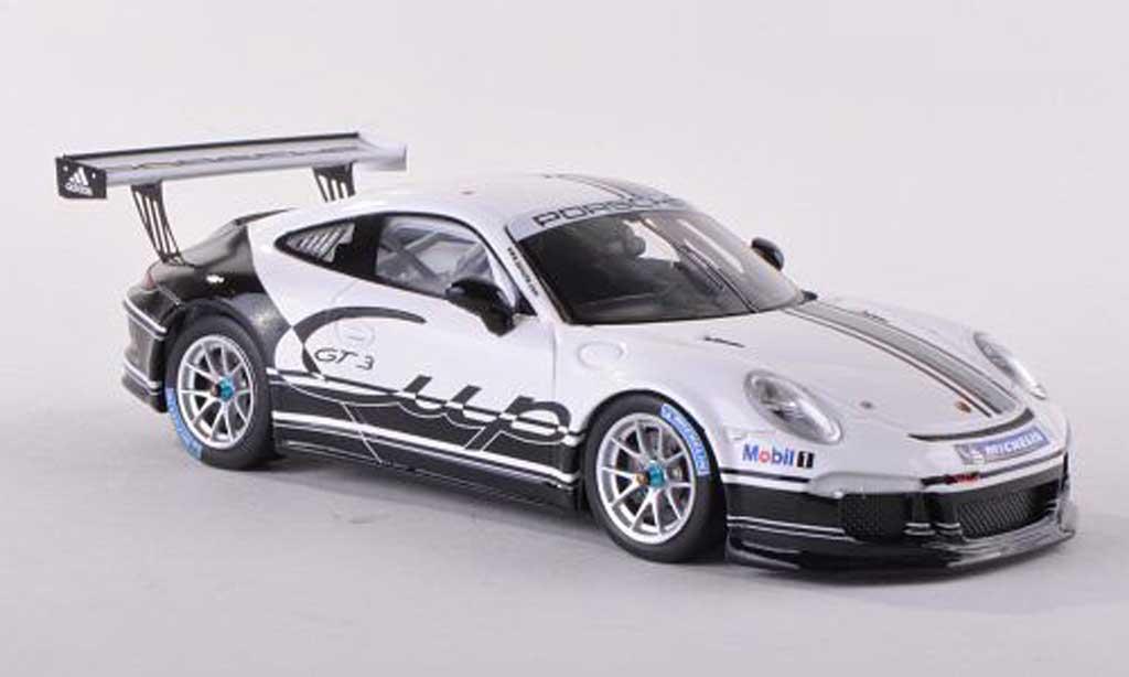 Porsche 991 GT3 1/43 Spark Prasentationsfahrzeug  2013 diecast