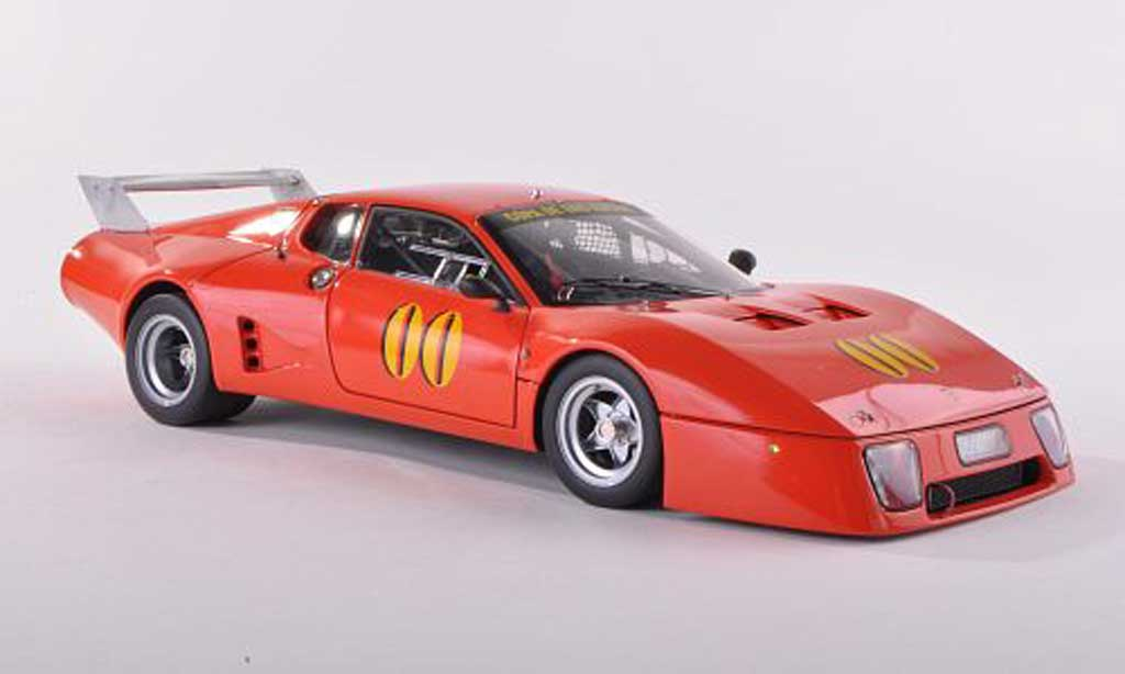 Ferrari 512 BB LM 1/18 BBR Models No.00 Copa de Oro Racing orangerouge 1979 miniature