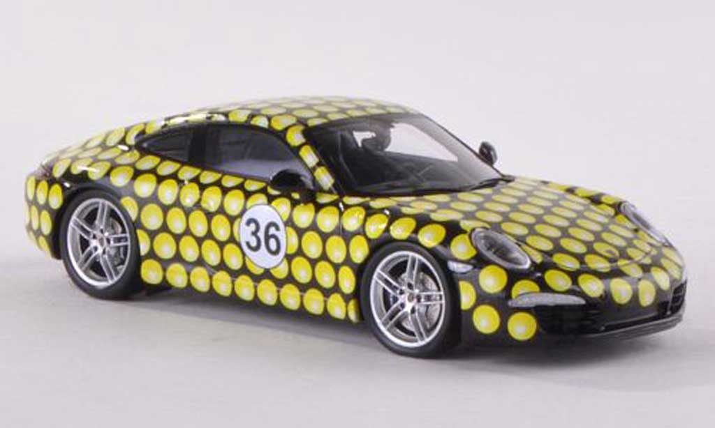 Porsche 991 Carrera 1/43 Spark Showtime 36.Tennis Grand Prix Stuttgart  2013 miniature