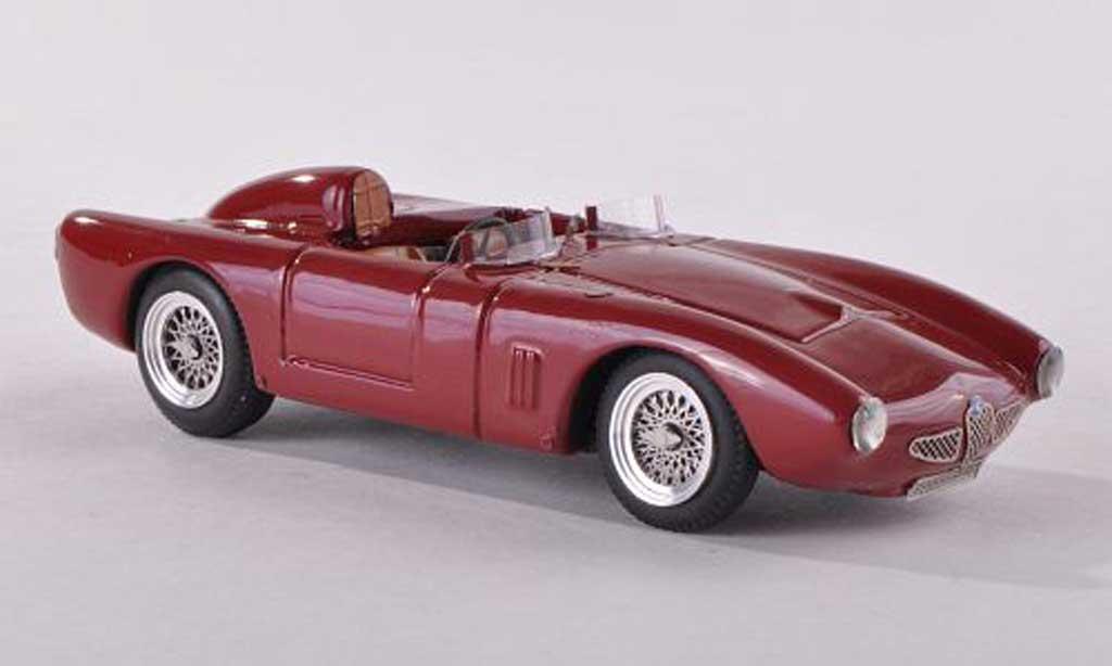 Alfa Romeo 2000 1/43 Jolly Model disco Volante Arenghi-Annoni Stradale noire-rouge miniature