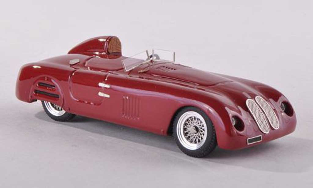 Fiat 1500 1/43 Jolly Model Barchetta Gavini noire-rouge 1939 miniature