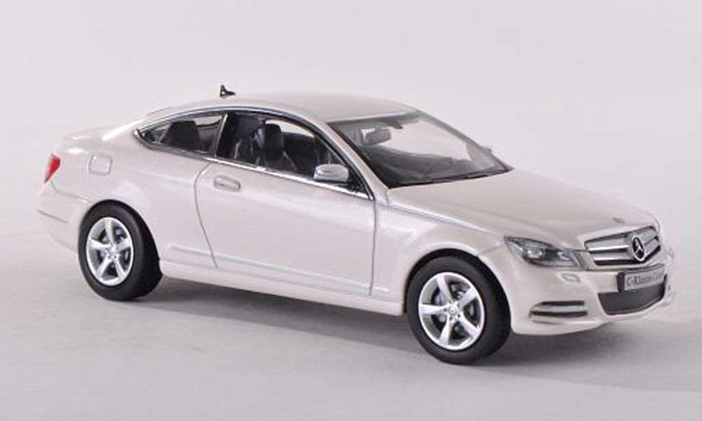 Mercedes Classe C 1/43 Norev (C204) blanche Facelift miniature