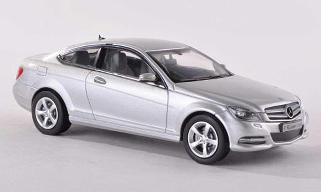 Mercedes Classe C 1/43 Norev (C204) grise Facelift  miniature