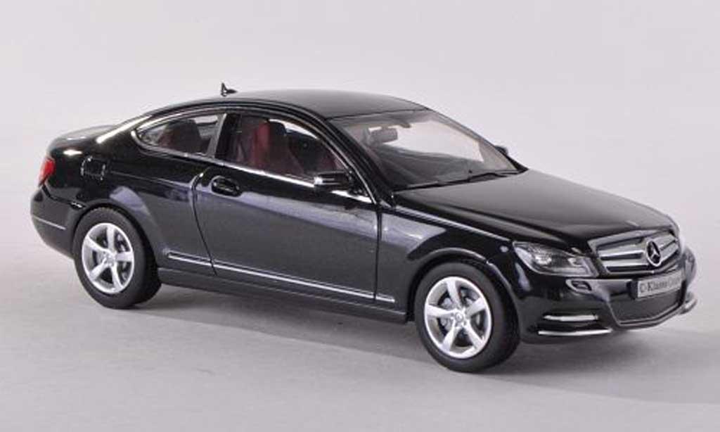 Mercedes Classe C 1/43 Norev (C204) nero Facelift modellino in miniatura