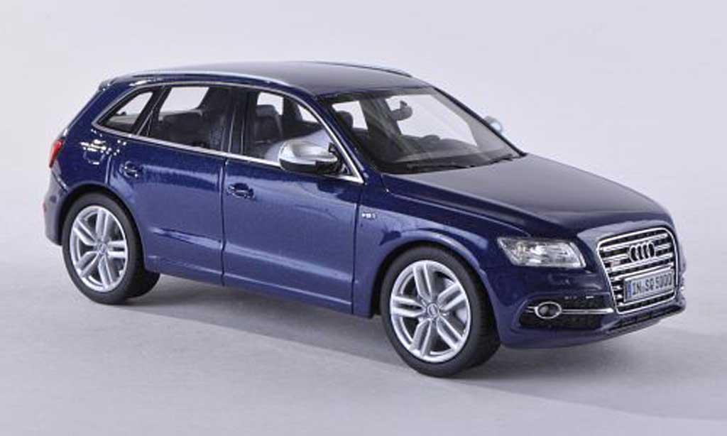 Audi SQ5 1/43 Schuco ProR TDI bleu 2013