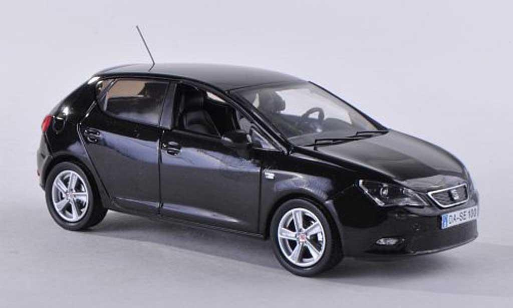 Seat Ibiza 1/43 Seat noire 5-portes  2013 miniature