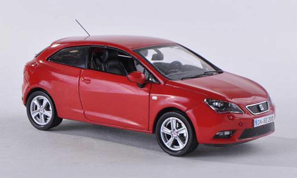 Seat Ibiza 1/43 Seat SC rouge 2013 miniature