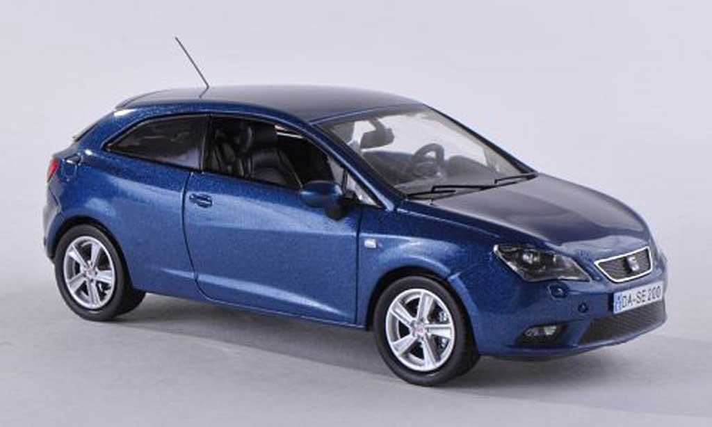 Seat Ibiza 1/43 Seat SC noire-bleu 2013 miniature