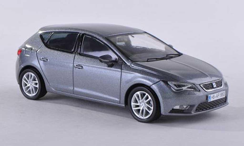 Seat Leon 1/43 Seat gris  2012 modellautos