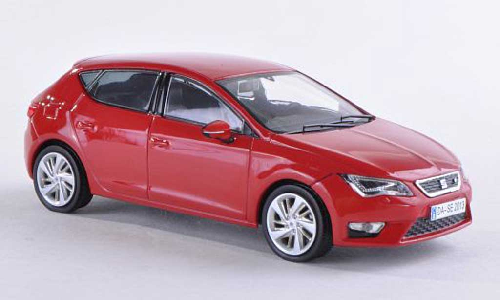 Seat Leon 1/43 Seat red 2012 diecast model cars