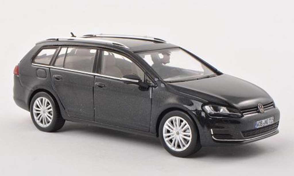 Volkswagen Golf VII 1/43 Herpa Variant noire 2013 miniature