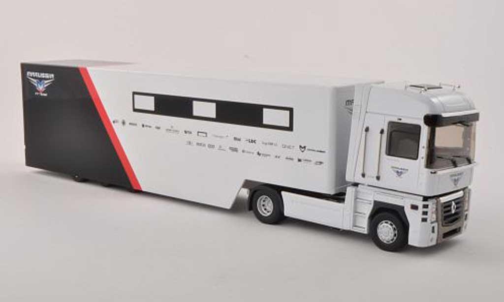 Renault F1 2013 1/43 Eligor Magnum 08 Marussia F1 Team transporteur Race