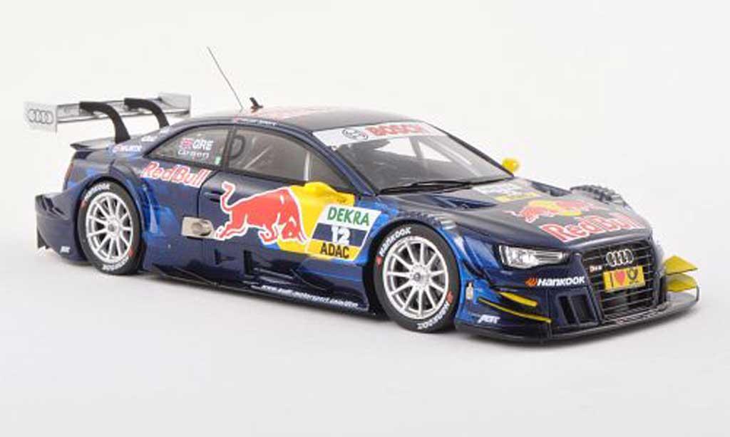 Audi RS5 DTM 1/43 Spark No.12 Red Bull -Saison 2013 J.Green diecast model cars