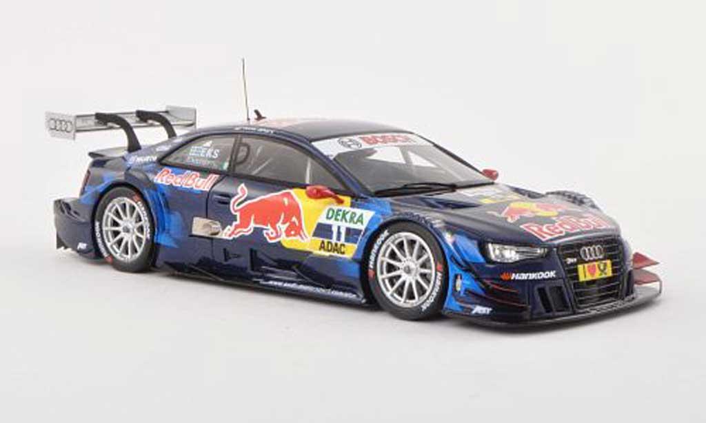 Audi RS5 DTM 1/43 Spark No.11 Red Bull -Saison 2013 M.Ekstrom miniature