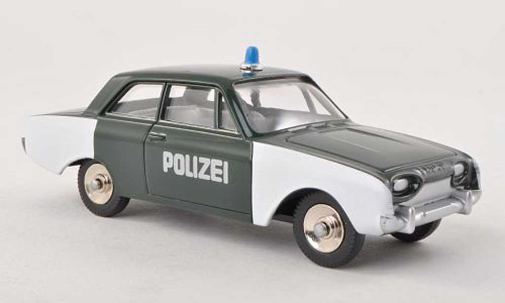 Ford Taunus 1/43 Dinky Toys 17m P3 police miniature