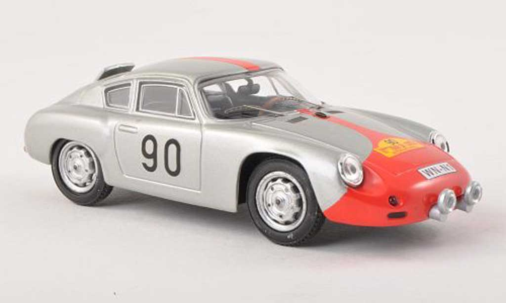 Porsche Abarth 1/43 Best No.90 Tour de Corse 1961 miniatura