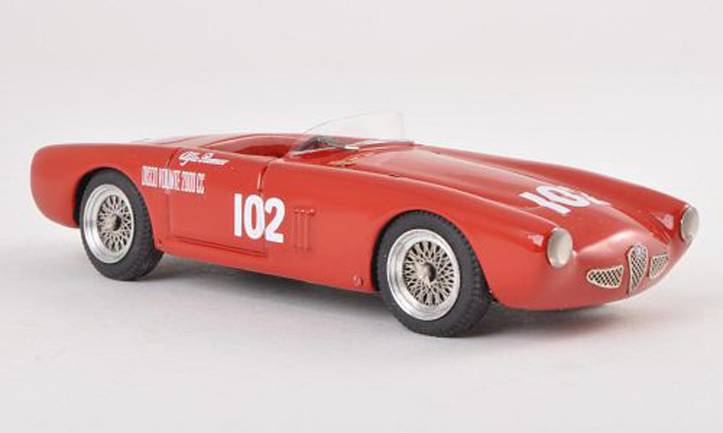 Alfa Romeo 1900 Spyder 1/43 Jolly Model Colli No.102 GP Sooma 1955 miniature