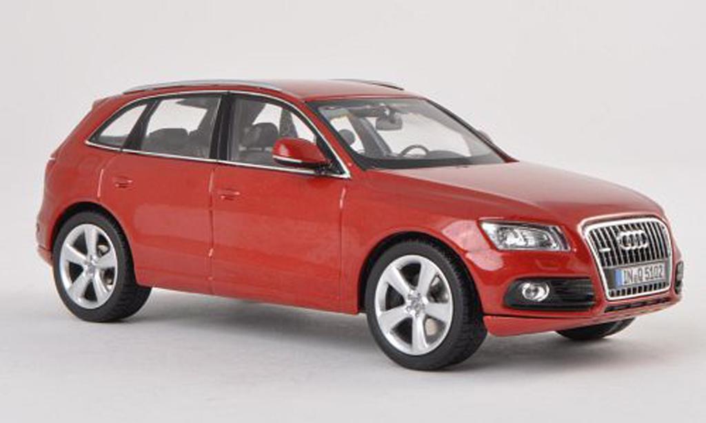 Audi Q5 1/43 Schuco rouge 2013 miniature