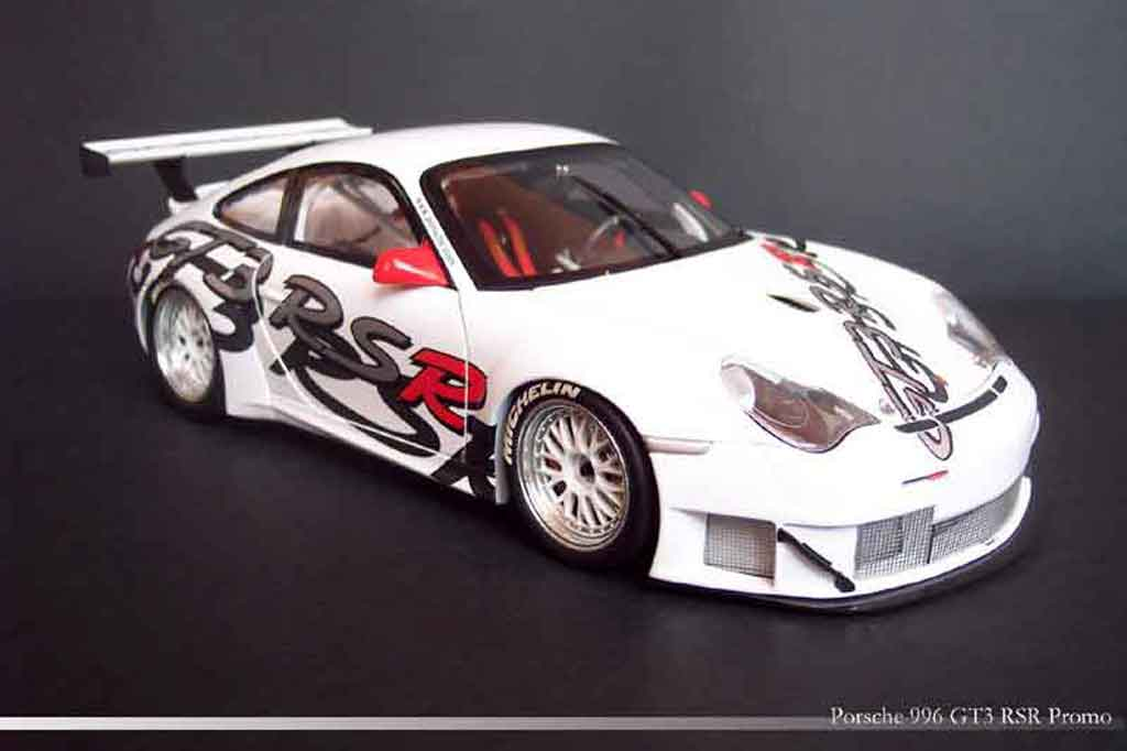 Porsche 996 GT3 RSR 1/18 Minichamps promo car diecast
